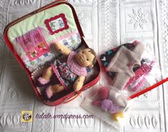 Waldorf baby doll by #Tulale ready to go her new home.