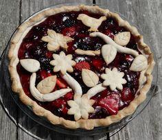 Triple Berry pie ...a quiet life...: triple threat