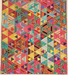 Kaffe Fassett Quilt Kit.  Fantastic inspiration, both in color and design
