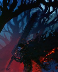 Guts and griffith ( berserk ) by anatofinnstark digital art / drawings & paintings / people / fantasy Dark Fantasy, Fan Art, Guts And Griffith, Griffith Berserk, Manga Anime, Anime Art, Blood Art, Corpse Party, Old School Cartoons