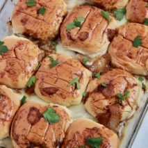Recipe: Skinny Creamy Garlic Shrimp with Spaghetti Squash - Smashed Peas & Carrots Casserole Recipes, Crockpot Recipes, Cooking Recipes, Dip Crockpot, Baked Spaghetti Casserole, Baked Spaghetti Squash, French Dip, French Onion, Swedish Meatballs Crockpot