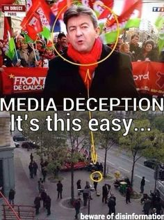 Media Deception - always think critically about the media you consume