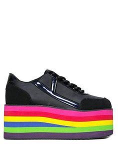 001d7318427 KARAZII MESH - RAINBOW Rainbow Sneakers