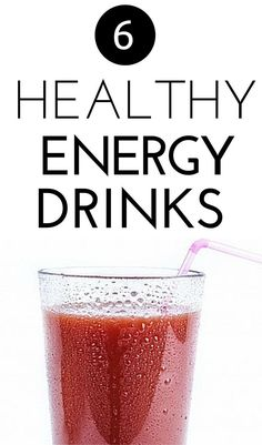 Check out these 6 delicious, super-healthy energy drink recipes to boost your mood and your energy that you can whip up in no time! Healthy Baking, Easy Healthy Recipes, Healthy Snacks, Healthy Life, Healthy Habits, Healthy Choices, Healthy Energy Drinks, Best Energy Drink, Healthy Morning Routine
