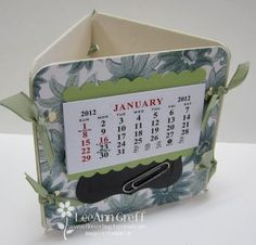 Calendar & Post-it-Note & Photo on coasters