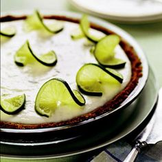 Get the recipe for Healthy Key Lime Pie.