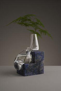 Волна и камень: растекающиеся вазы от Studio E.O.
