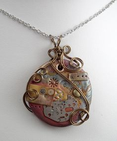 Polymer Clay Jewellery :: gayle bird designs