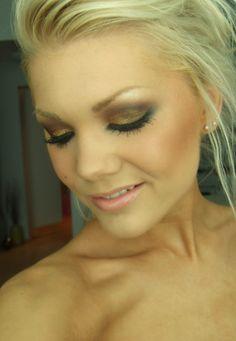Dagens make-up – Golden FakeTan |