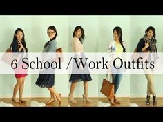▶ Dress It Yourself: 6 Back to School & Work Outfit Ideas by ANNEORSHINE - YouTube
