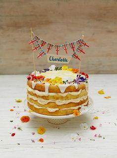 Baby Cake!! Royal Charlotte lemon drizzle cake | Jamie Oliver | Food | Jamie Oliver (UK)