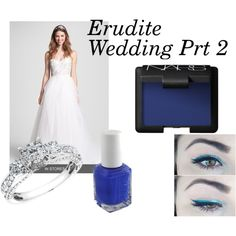 """""""Erudite Wedding Prt 2"""" by jyelken on Polyvore 'Don't forget some blue with white personalized napkins to make your day complete. www.napkinspersonalized.com"""