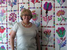 Glorious Applique: Workshops with Kim