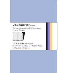 Moleskine Volant Large Ruled Antwerp Blue & Prussian Blue