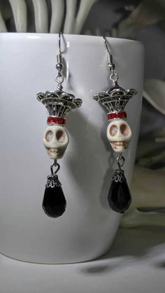 Check out this item in my Etsy shop https://www.etsy.com/listing/550656635/skull-earrings