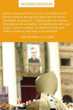 San Juan Pablo II y el fundador del Opus Dei