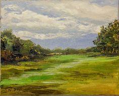 Kirkwood, 8x10 oil by Annie Strack, $195.
