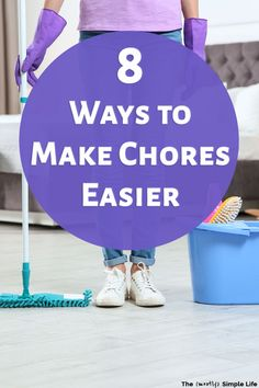 If you're feeling overwhelmed by household chores, you're going to love these cleaning hacks! Make chores easier! Life changing lazy girl cleaning tips, including products, gadgets, and tips to make life easier. You can live in a clean house without spending tons of time cleaning. Start using these housework lifehacks ASAP! Clean House, Simple House, Household Chores, Lazy Girl, Feeling Overwhelmed, Homemaking, Cleaning Hacks, Life Hacks, Life Changing