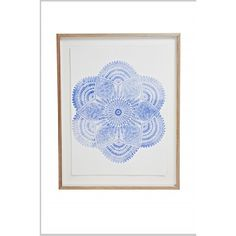 Navy Mandala Print Lumiere Art Co. ❤ liked on Polyvore featuring home, home decor, wall art, mandala wall art, typography wall art, navy home decor, navy blue home decor and quote wall art