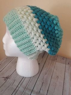 Check out this item in my Etsy shop https://www.etsy.com/listing/540934346/crochet-slouchy-hat-baggy-beanie-womens