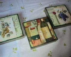 Trio telas- Vinhos