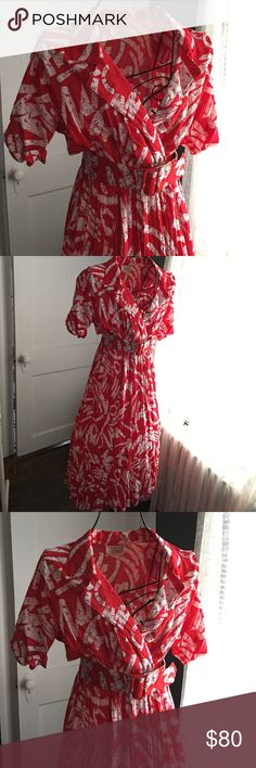 I just added this listing on Poshmark: Valentine's Day 💝Vintage milanzo vintage dress 🍒. Vintage Red Dress, Vintage Dresses, Vintage Outfits, Dress Red, Wrap Dress, Picnic Dress, Vintage Closet, Summer Picnic, Cherry Red