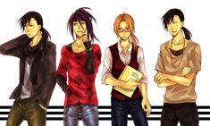 Fullmetal Alchemist Brotherhood, Ling Yao, Edward Elric, Envy, Greed