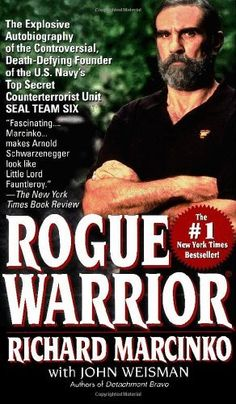 Rogue Warrior by Richard Marcinko, http://www.amazon.com/dp/0671795937/ref=cm_sw_r_pi_dp_FHPRrb0TGE5KK