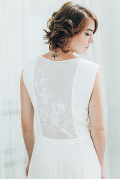 "Robe de mariée ""Mai"". Wedding dress Atelier Swan #robedemariee #createur #mariee #madeinfrance #surmesure #weddingdress"