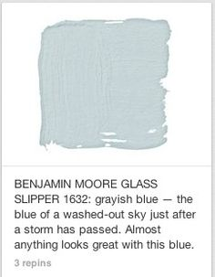 For the Home 46 Super Ideas Bauernhaus Küche blau Benjamin Moore Giving Juice To Your Baby Fruit jui Room Colors, Wall Colors, House Colors, Exterior Paint Colors, Paint Colors For Home, Paint Colours For Bedrooms, Light Blue Paint Colors, Exterior Design, Gray Color