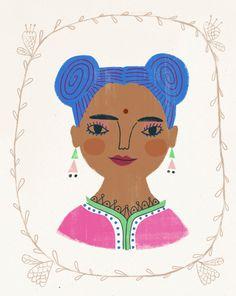 Chai Swirls by Sarah Walsh. via Etsy.
