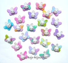 "Kawaii ""Rabbitflies"" by Bojo-Bijoux.deviantart.com on @deviantART"