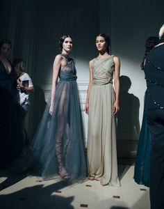 Valentino Fall 2014 Couture – Backstage – Vogue