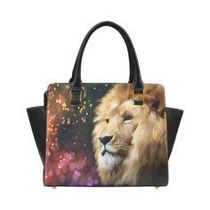 Male lion digital painting Classic Shoulder Handbag by Tracey Lee Art Designs Shoulder Handbags, Shoulder Bag, Male Lion, Art Designs, Digital, Tote Bags, Unique Jewelry, Classic, Artwork
