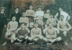 Gainsborough Trinity team group in 1896.
