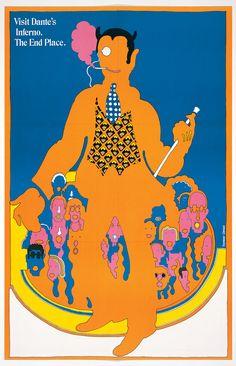 Dante's Inferno, 1967, no. 52  Seymour Chwast, Milton Glaser, James McMullan, New York, New York, 1967