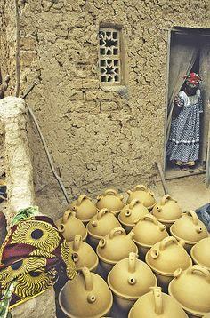 Pottery in Kalabougou Mali