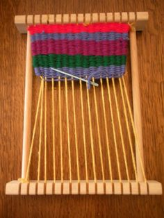 Small Weaving Looms | Small Wooden Weaving Loom for a Child