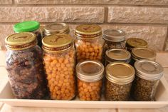 Saving Money and Planning Ahead Tip #1-Freezing Cooked Beans/Peas/Legumes