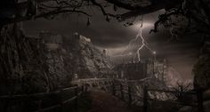 Image for Goth Wallpapers Castle 61