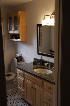 Nice Omega Dynasty Natural Maple Bath Cabinets. Vanity And Wall Cabinet.