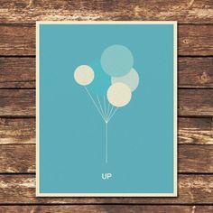 UP! minimalistic movie poster.... cute, cute