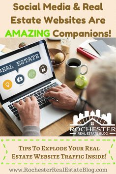 Social Media & Real Estate Websites Are AMAZING Companions - Tips To Explode Your Real Estate Website Traffic Inside! http://www.rochesterrealestateblog.com/get-web-traffic-real-estate-website-blog/ via @KyleHiscockRE