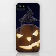 Halloween creepy night iPhone & iPod Case by Jordygraph - $35.00