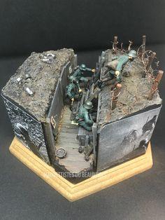 #scalemodel #military #scalemodelworld #worldwar #war #hobby #miniature #modelkit #modelism #diorama #scale #instagram #plasticmodel #maquette #ww1centenary #1914 Plastic Models, Scale Models, World War, Decorative Boxes, Miniatures, Diorama, Ww2, Military, Instagram