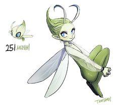 Pokemon Gijinka 251. Celebi