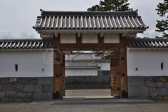 Odawara Castle house carriage gate