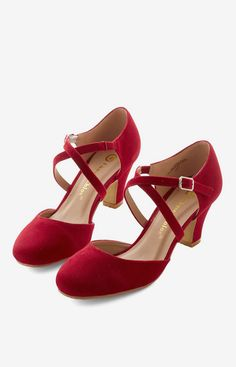 Memorable Moves Heel in Rouge