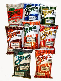 Zapp's kettle style chips Zapp's was started in 1985 by Ron Zappe in Gramercy, LA. The plant started out life as the former Foucheux Chevrolet