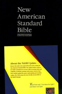 New American Standard Bible (NASB) Update Side-Column Reference; Blue - http://christianworldviewbooks.net/new-american-standard-bible-nasb-update-side-column-reference-blue/